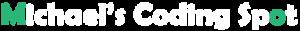 Michaels Coding Spot logo