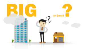 small startup or big organization