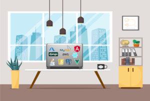 Web application development