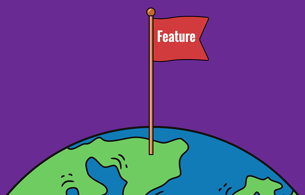Continuous delivery with feature flags